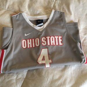 Nike Ohio State basketball #4 Jersey. NWOT